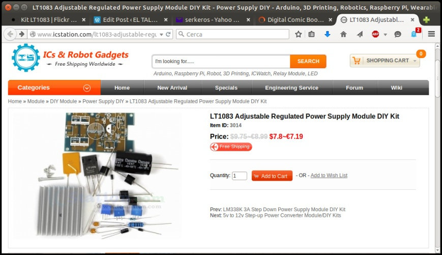 pantalla kit LT1083